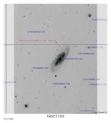 NGC3198 du 14/02/2009 - repérage