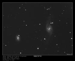 NGC3718 du 3/01/2009 (à droite)