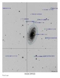 NGC3953 du 13/02/2009 - repérage