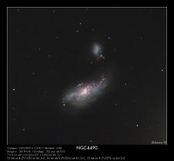 NGC4490/ARP269 du 14/04/2009