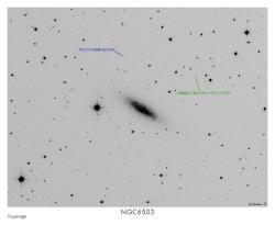 NGC6503 du 02/05/2009 - repérage