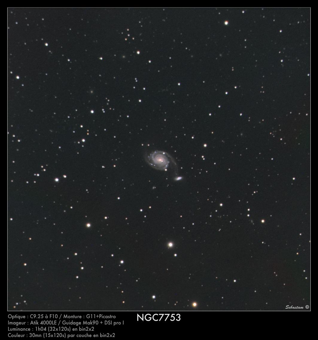 NGC7753 du 02/09/2011