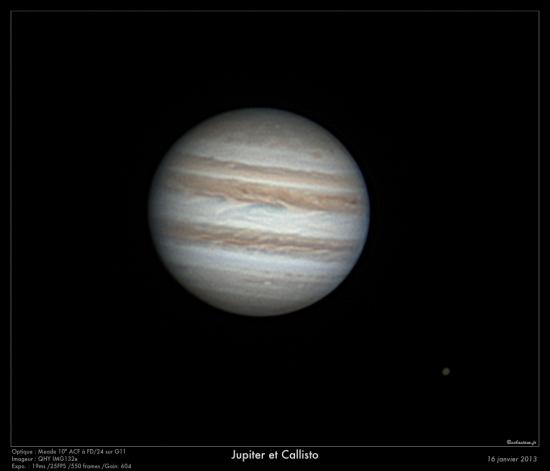 Jupiter du 16/01/2013