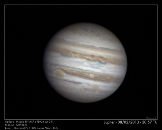 Jupiter - 08/02/2013 - 20:57 TU