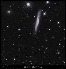 NGC3079 du 12/02/2019